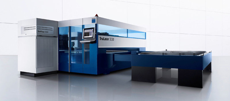 Our Newest Machine, Trumpf 3030 with Lift Master