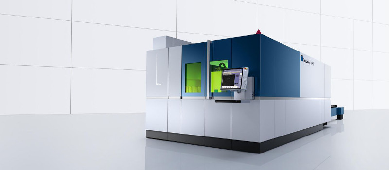 Alpha and Omega Laser's Trumpf TruLaser 5030 Fiber Cutting Machine